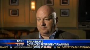 Brian Byars interviewed by Dana Fowle on Fox 5 News.